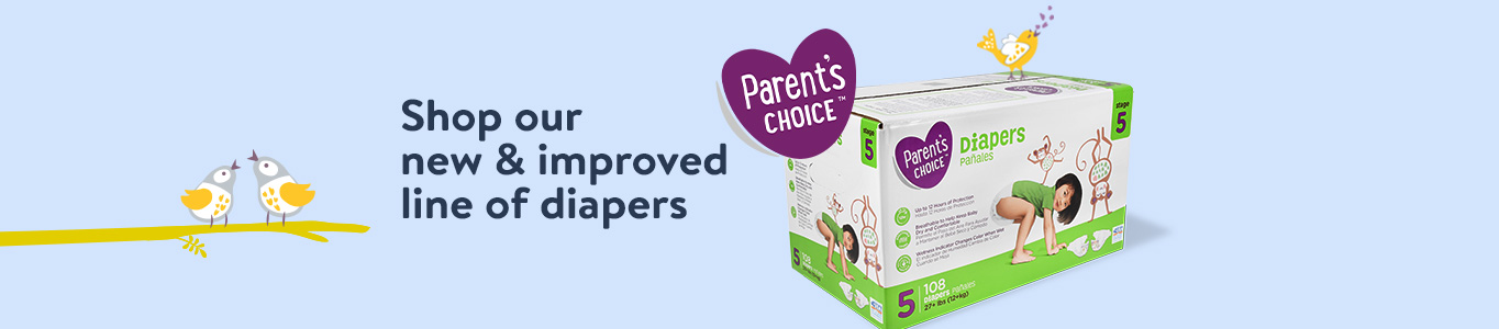 Shop our new & improves line of diapers