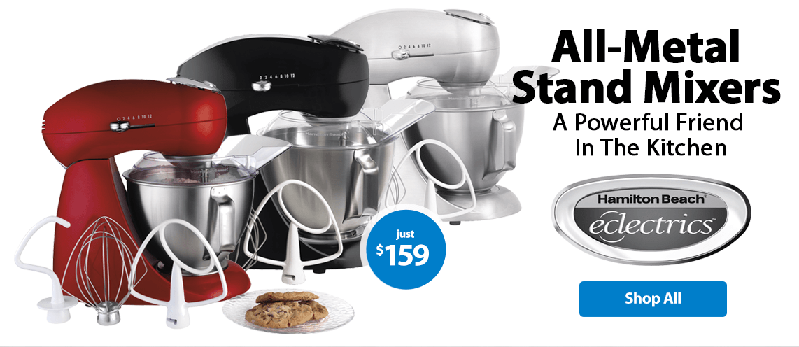 All metal stand mixers a powerful friend in the kitchen - Walmart kitchen appliances ...