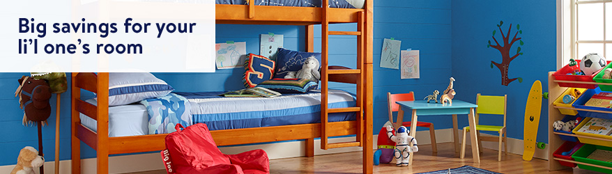 Big savings for your li'l one's room