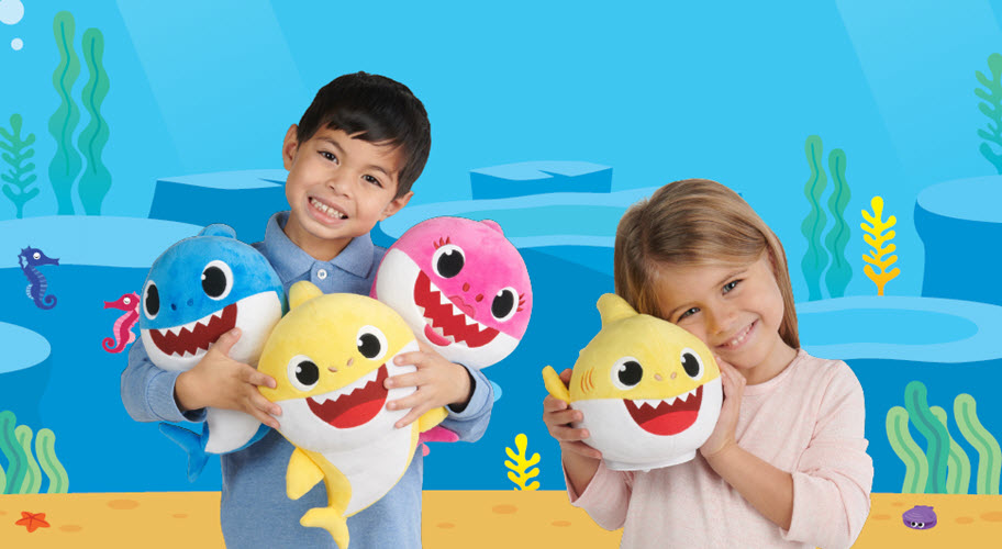 Doo-do the Baby Shark Dance with these new plush toys