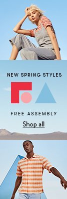 New spring styles from Free Assembly. Shop all.