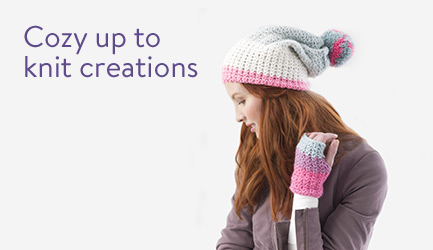 Cozy up to knit creations