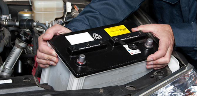Learn how to install a car battery.