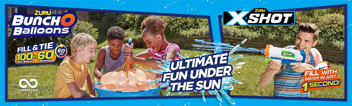 Shop Zuru Water Blasters and Balloons on Walmart.com