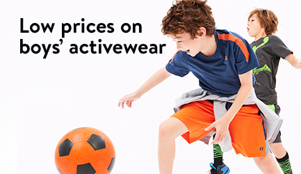 Low prices on boys' activewear