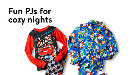 Fun PJs for cozy nights