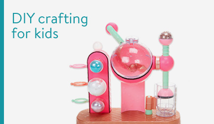 DIY crafting for kids
