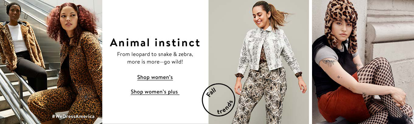 Animal instinct. From leopard to snake & zebra, more is more - go wild!