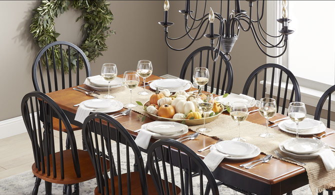 top 25 google home voice commands for celebrating thanksgiving - Beaded Inset Restaurant Interior