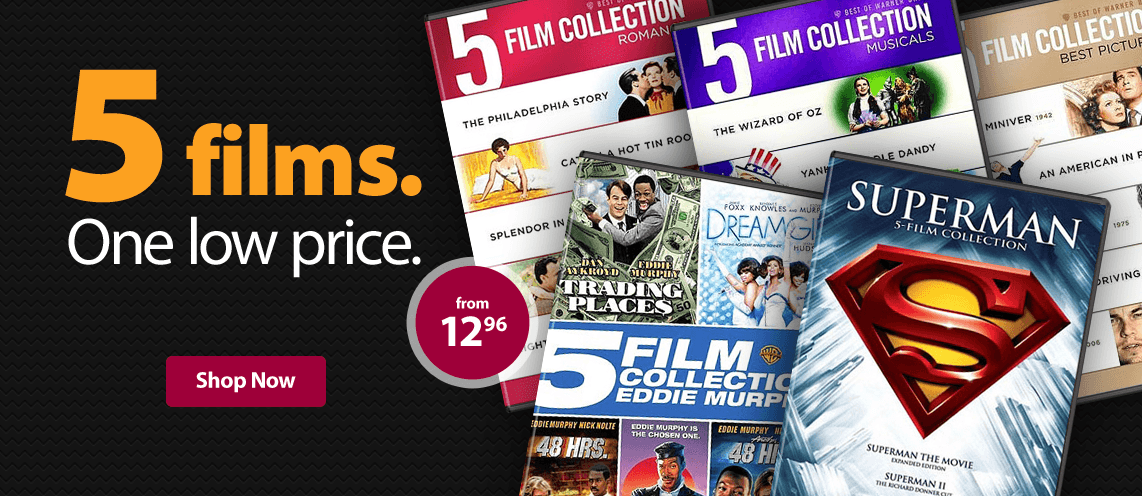 5 Films in one price