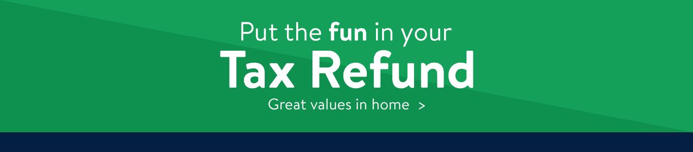 Spend Your Tax Refund