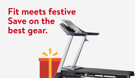 Fit meets festive. Save on fitness gear
