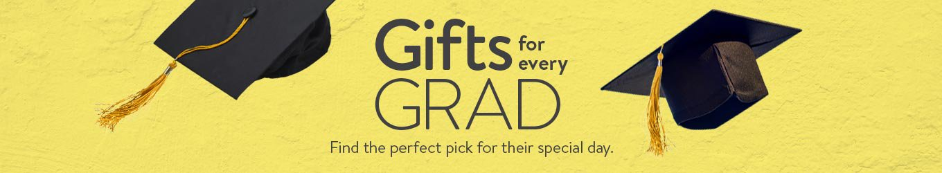 Gifts for every grad. Find the perfect pick for their special day.