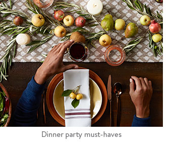 Dinner party must-haves