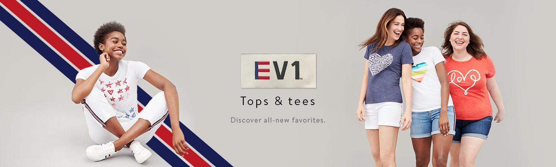 0494814aa EV1 from Ellen DeGeneres Tops & Tees - Walmart.com