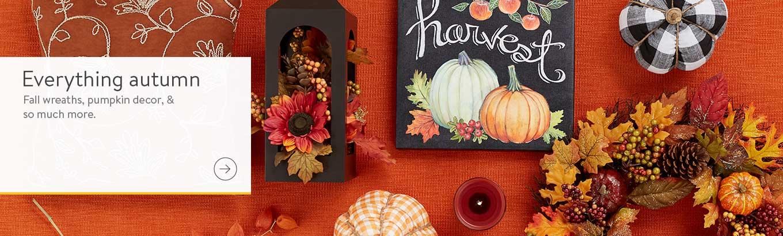 Fall Gourd Pumpkin Shape Set of 2 Wood Ornaments Thanksgiving Autumn 4.5 x 5