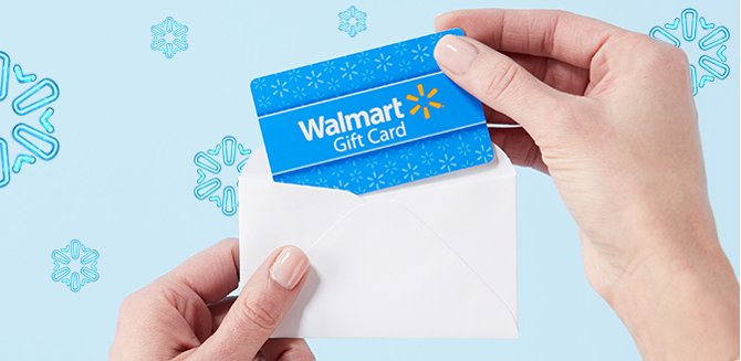 Shop Walmart Gift Cards By Mail