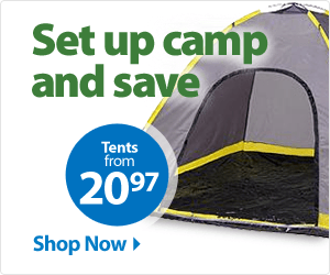 Set up camp and save