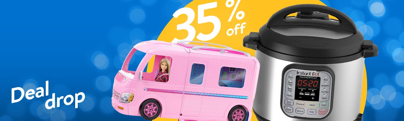 Do. Not. Miss. 35% off. Save on select toys, home items, & more.