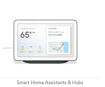 Smart home assistants and hubs