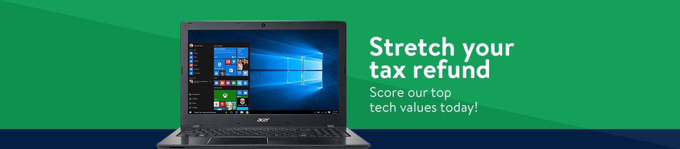 Stretch your tax refund. Score our top tech values today!