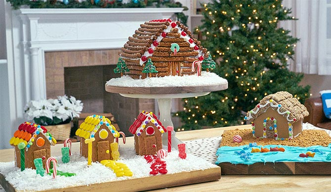 3 Fun Gingerbread House Ideas