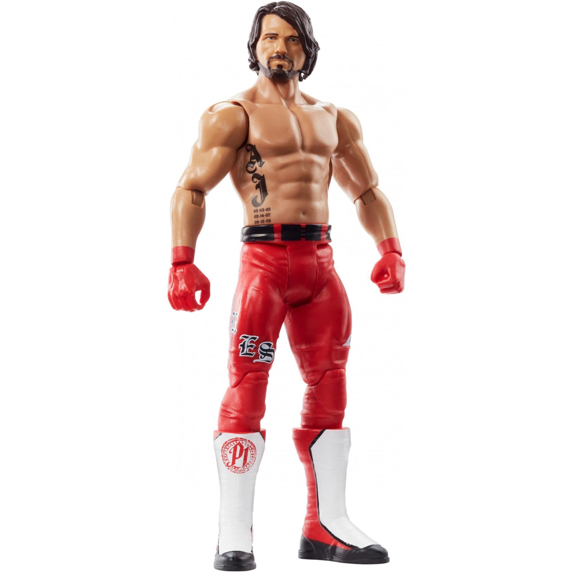 WWE ELITE Survivor série AJ Styles Walmart Mattel exclusives Figure-dans la main