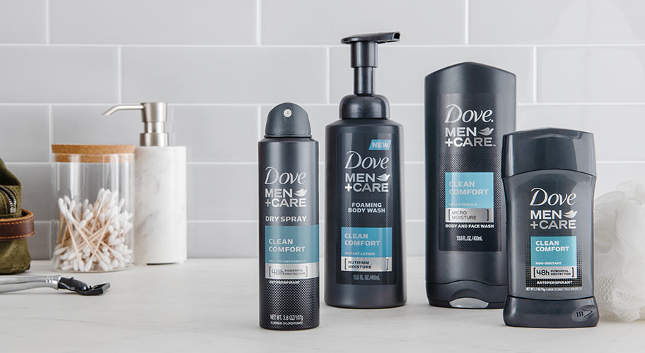 1896ac6a752 Stay fresh with Dove Men + Care.