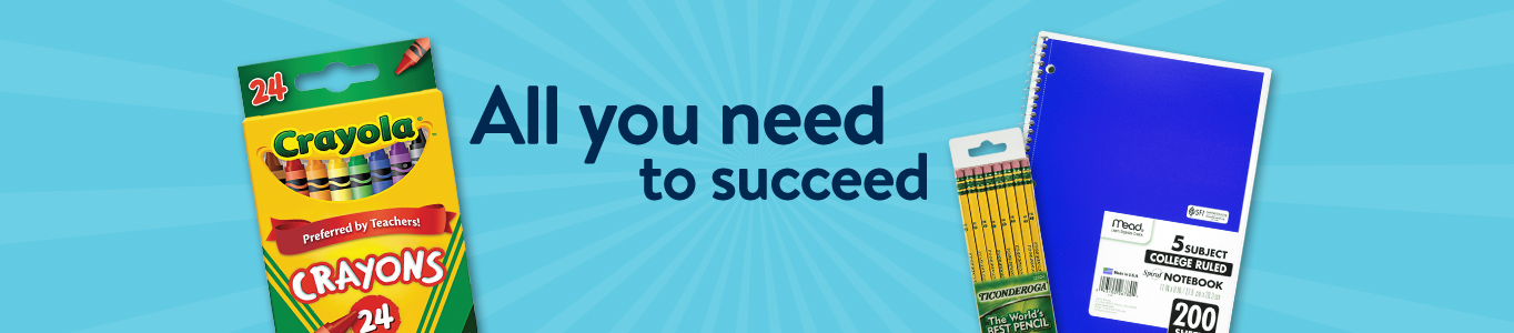 All you need to succeed.