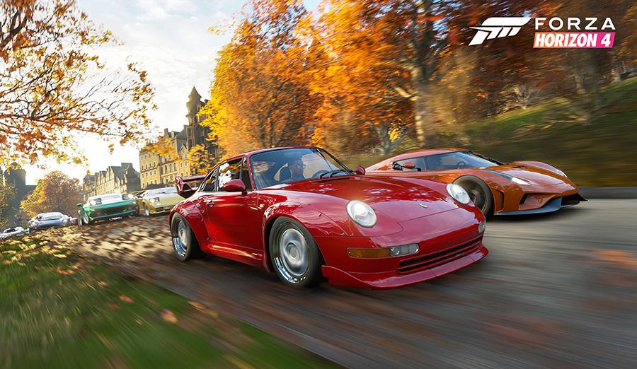 It's Always the Season for Racing in Forza Horizon 4