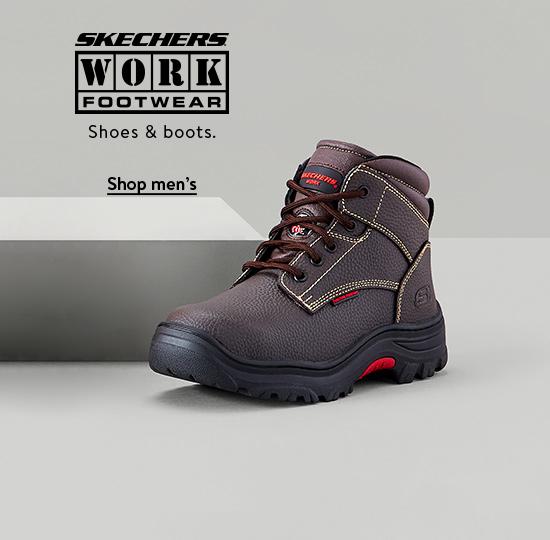 Skechers Work shoes & boots. Shop men's.