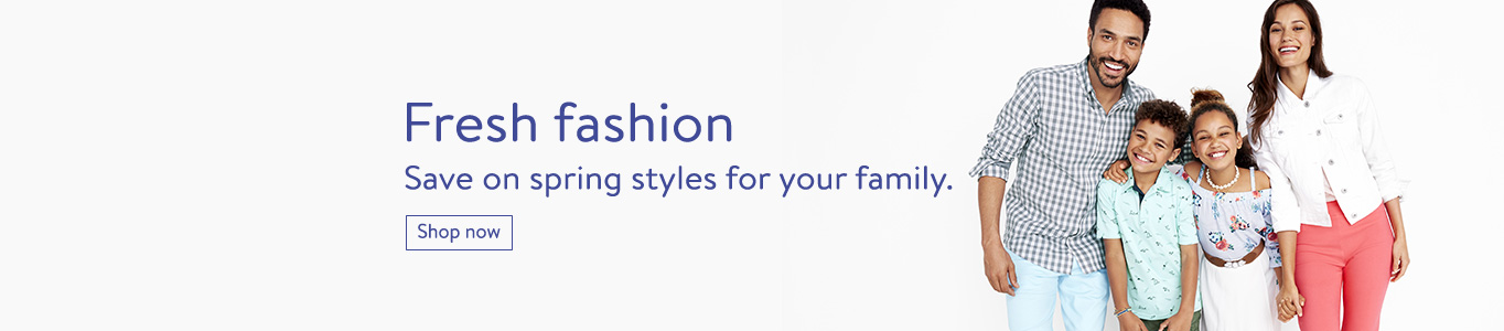 Fresh fashion: Save on spring styles for your family.