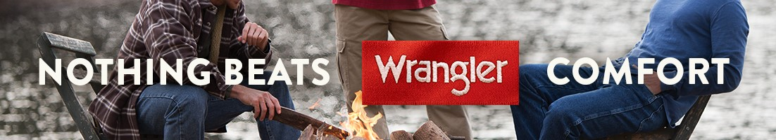 Nothing beats Wrangler comfort.