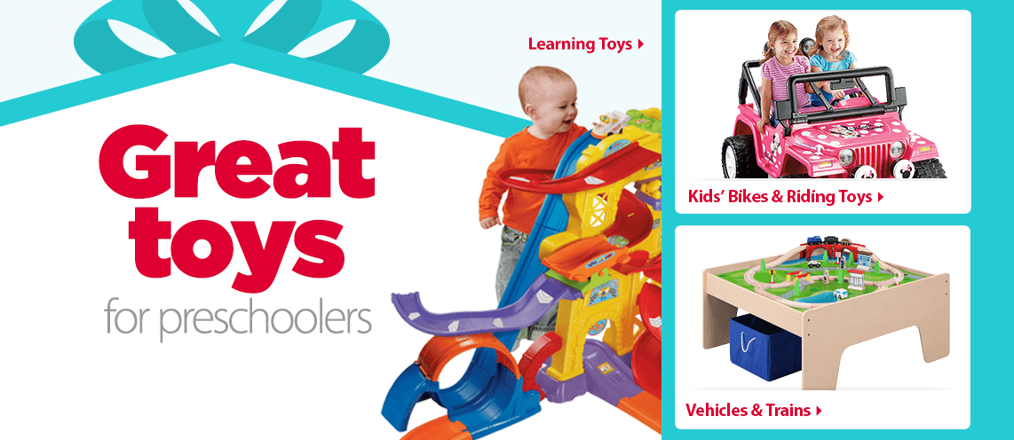Great toys for Preschoolers