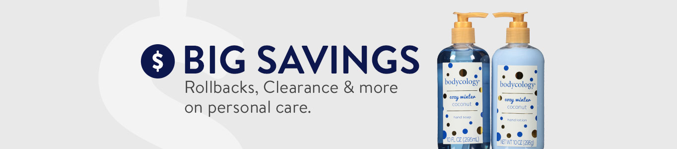 Shop big savings in Personal Care on Walmart.com!