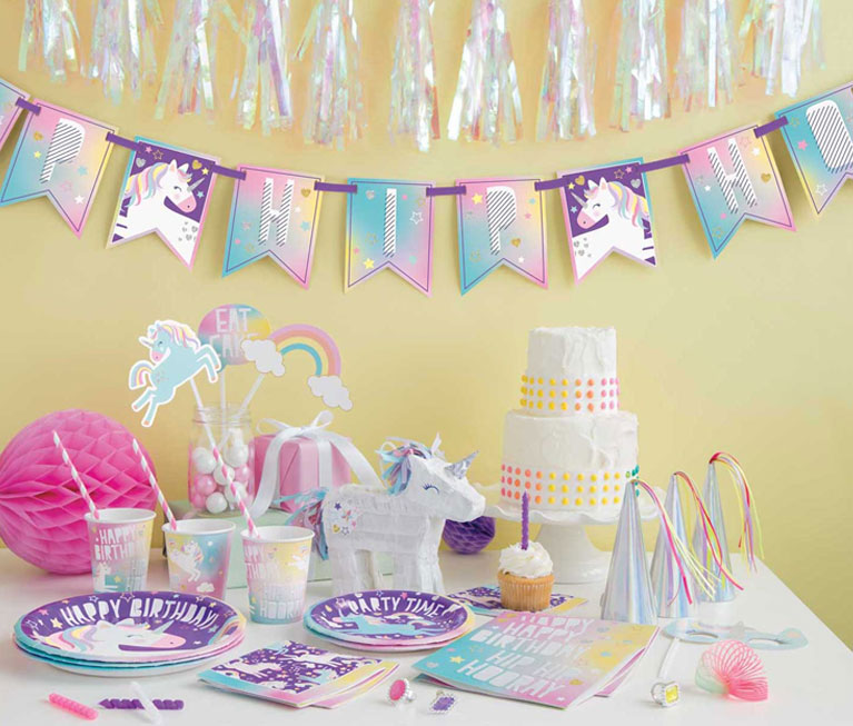 "Birthday Party Supplies Unicorn 20/""  Pinata Magical Handmade"