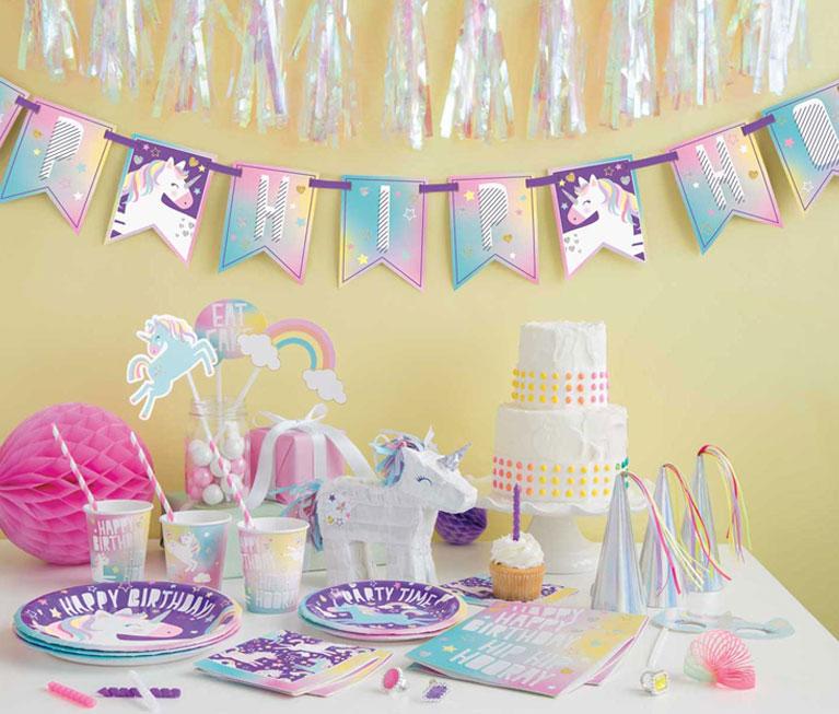 Unicorn Party Supplies , Walmart.com