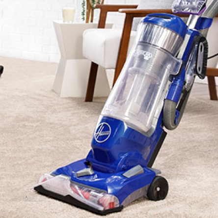 Vacuum before using your carpet cleaner
