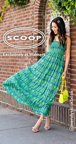 Scoop, exclusively at Walmart. Shop the new summer collection from twenty dollars.