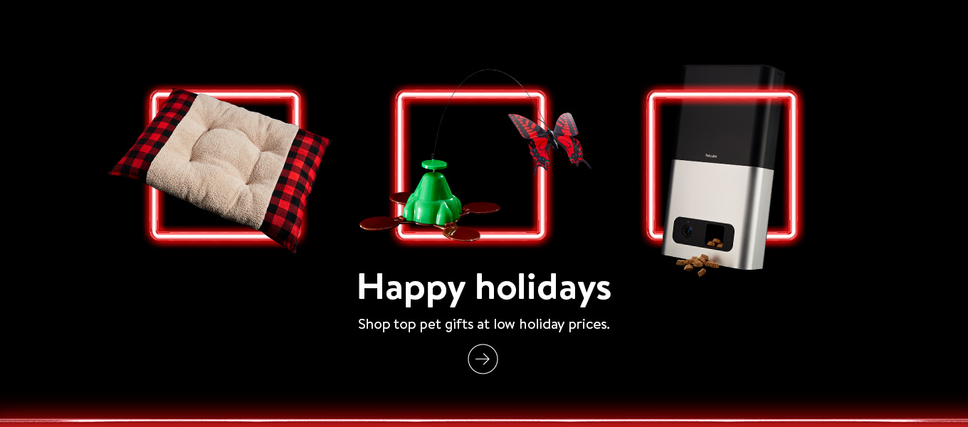 Shop top pet gifts at low holiday prices.