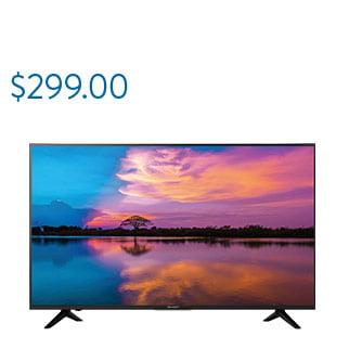 """Sharp 55"""" 4K Ultra HDTV"""