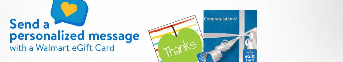 eGift Cards All Gift Cards - Walmart.com