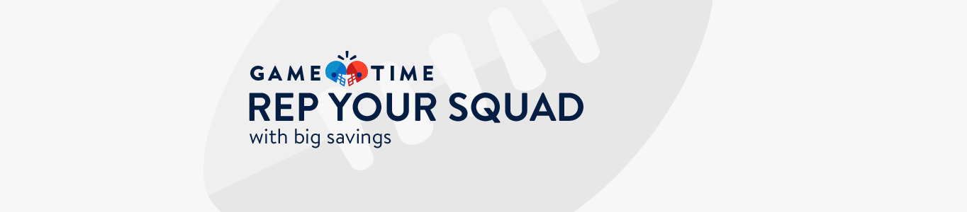 Rep your squad with big savings