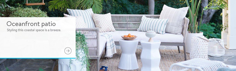 Prime Sbs Coastal Patio March 2019 Walmart Com Bralicious Painted Fabric Chair Ideas Braliciousco
