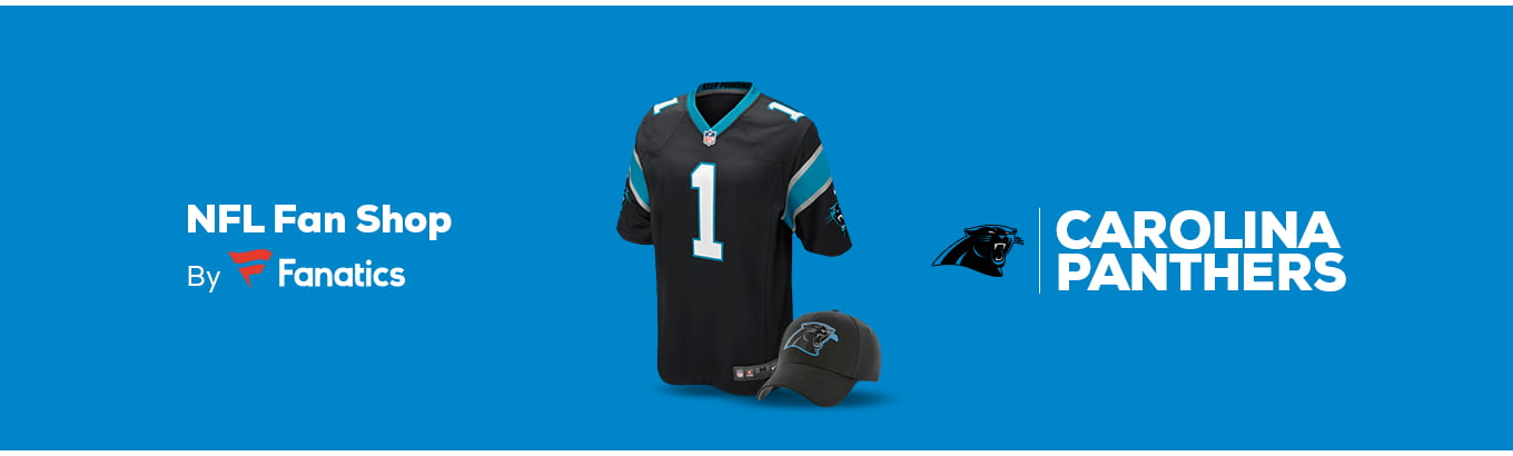 cheap for discount 03f85 df573 Carolina Panthers Team Shop