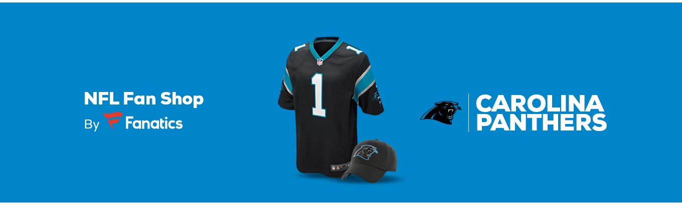 55c7c9b1a6c180 Carolina Panthers Team Shop - Walmart.com