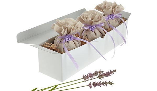 No Sew Lavender Sachet Handmade Gift