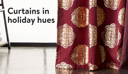 Curtains Window Treatments Walmartcom - Curtains and window treatments