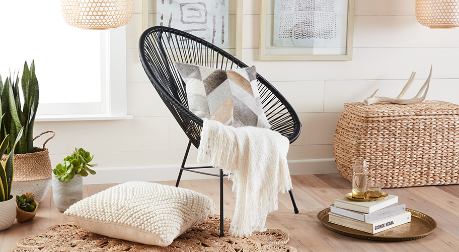 Explore A Decor Collection Featuring Wicker, Rattan U0026 Other Natural Textures