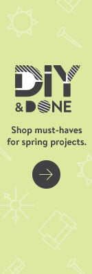 b5ffb4315af DIY and Done. Shop must-haves for spring projects.